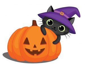 cat pumpkin party game